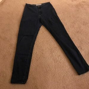 American Apparel Dark Blue Skinny Jeans size Large